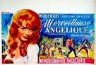 Merveilleuse Angélique - Belgian Movie Poster (xs thumbnail)