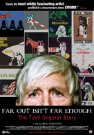 Far Out Isn't Far Enough: The Tomi Ungerer Story - Movie Poster (xs thumbnail)