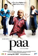 Paa - Indian Movie Poster (xs thumbnail)