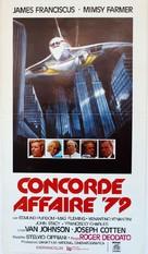 Concorde Affaire '79 - Italian Movie Poster (xs thumbnail)