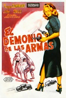 Deadly Is the Female - Spanish Movie Poster (xs thumbnail)