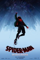 Spider-Man: Into the Spider-Verse - Italian Movie Poster (xs thumbnail)