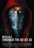 Metallica Through the Never - German Movie Poster (xs thumbnail)