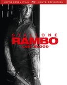 Rambo: Last Blood - French Blu-Ray movie cover (xs thumbnail)