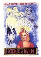 Der Kongreß tanzt - Spanish Movie Poster (xs thumbnail)
