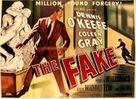 The Fake - British Movie Poster (xs thumbnail)