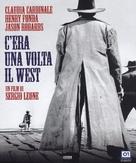 C'era una volta il West - Italian Blu-Ray movie cover (xs thumbnail)
