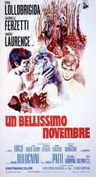 Un bellissimo novembre - Italian Movie Poster (xs thumbnail)