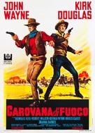 The War Wagon - Italian Movie Poster (xs thumbnail)