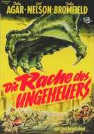 Revenge of the Creature - German Movie Poster (xs thumbnail)