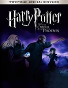 Harry Potter and the Order of the Phoenix - Blu-Ray movie cover (xs thumbnail)