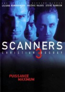 Scanners III: The Takeover - French DVD cover (xs thumbnail)