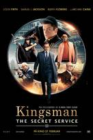 Kingsman: The Secret Service - Norwegian Movie Poster (xs thumbnail)