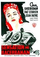 The Devil on Wheels - Swedish Movie Poster (xs thumbnail)