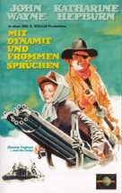 Rooster Cogburn - German VHS movie cover (xs thumbnail)