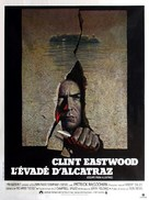 Escape From Alcatraz - French Movie Poster (xs thumbnail)