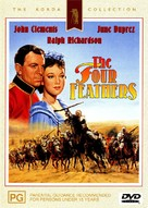 The Four Feathers - Australian DVD cover (xs thumbnail)