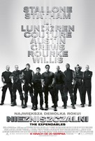 The Expendables - Polish Movie Poster (xs thumbnail)