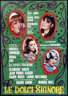Le dolci signore - Italian Movie Poster (xs thumbnail)