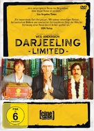 The Darjeeling Limited - German DVD cover (xs thumbnail)