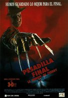 Freddy's Dead: The Final Nightmare - Spanish Movie Poster (xs thumbnail)
