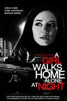 A Girl Walks Home Alone at Night - Movie Cover (xs thumbnail)