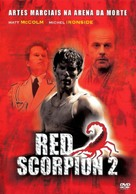 Red Scorpion 2 - Brazilian Movie Cover (xs thumbnail)