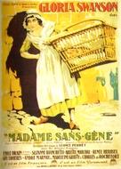 Madame Sans-Gêne - French Movie Poster (xs thumbnail)