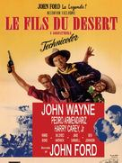 3 Godfathers - French Movie Poster (xs thumbnail)