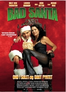 Bad Santa - Danish Movie Poster (xs thumbnail)