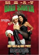 Bad Santa - Danish Movie Poster (xs thumbnail)