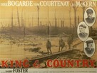 King & Country - British Movie Poster (xs thumbnail)