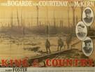 King & Country - British Movie Poster (xs thumbnail)