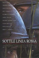 The Thin Red Line - Italian Movie Poster (xs thumbnail)