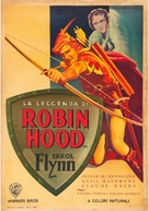 The Adventures of Robin Hood - Italian Movie Poster (xs thumbnail)