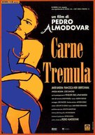 Carne trémula - Italian Movie Poster (xs thumbnail)