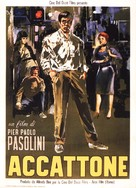 Accattone - Italian Movie Poster (xs thumbnail)