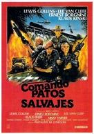 Geheimcode: Wildgänse - Spanish Movie Poster (xs thumbnail)