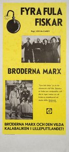 Duck Soup - Swedish Re-release movie poster (xs thumbnail)