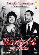 Divorzio all'italiana - Polish DVD cover (xs thumbnail)