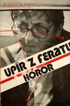 Upír z Feratu - Czech Movie Cover (xs thumbnail)