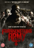 Frankenstein's Army - British DVD cover (xs thumbnail)