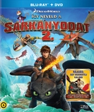 How to Train Your Dragon 2 - Hungarian Blu-Ray movie cover (xs thumbnail)