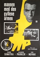 The Man with the Golden Arm - Swedish Movie Poster (xs thumbnail)