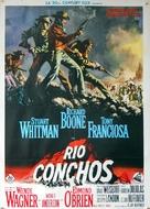 Rio Conchos - Italian Movie Poster (xs thumbnail)