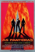 Charlie's Angels - Brazilian Movie Poster (xs thumbnail)
