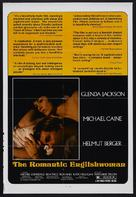The Romantic Englishwoman - Movie Poster (xs thumbnail)