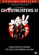 Ghostbusters II - DVD cover (xs thumbnail)
