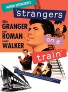 Strangers on a Train - DVD cover (xs thumbnail)