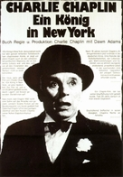 A King in New York - German Movie Poster (xs thumbnail)